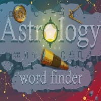 astrology word finder