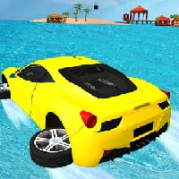 water surfing car game
